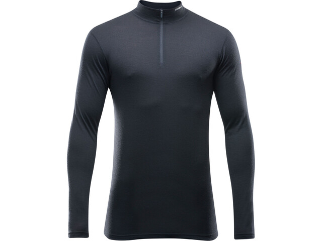 Devold Breeze Half Zip Neck Shirt Herr black
